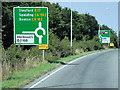 TF3525 : A17 Holbeach Bypass, Westbound by David Dixon