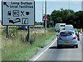 TF4124 : A17 Chapelgate Roundabout by David Dixon