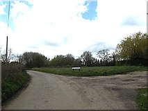 TM3887 : Banters Lane at Tooks Common by Adrian Cable