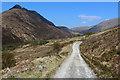 NN1663 : West Highland Way entering the Glen formed by Allt Nathrach by Chris Heaton