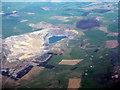 NS8535 : Broken Cross Muir opencast mine by M J Richardson