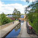 SJ9398 : Dukinfield Aqueduct by Gerald England