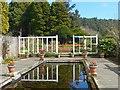 NU0602 : Pond in Cragside Formal Garden by Robin Drayton