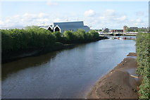 NS5566 : Riverside Museum and the River Kelvin by Richard Sutcliffe