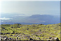 NM9940 : View south-west from summit of Beinn Bhreac by Robin Webster