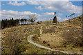 NN1066 : West Highland Way above Blàr a' Chaorainn by Chris Heaton