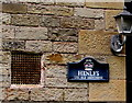 SN7810 : Old Courthouse nameplate, Heol Giedd, Ystradgynlais by Jaggery
