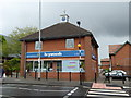 SJ8445 : Newcastle-under-Lyme: Heywoods estate agents by Jonathan Hutchins