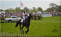ST8083 : Badminton Horse Trials 2016: Gwendolen Fer and Romantic Love by Jonathan Hutchins