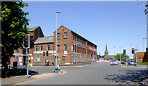 SO9098 : Eagle Works and Alexander Street, Wolverhampton by Roger  Kidd