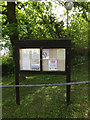 TM1848 : Tuddenham St.Martin Village Notice Board by Adrian Cable