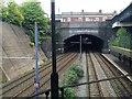 SP0687 : Short tunnel under Vyse Street east of Jewellery Quarter station, Birmingham by Robin Stott