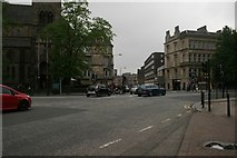 NS5667 : Byres Road - Great Western Road junction by Richard Sutcliffe