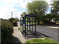 TM2155 : Bus Shelter off Chapel Road by Adrian Cable