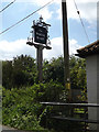 TM2055 : The White Hart Public House sign by Adrian Cable