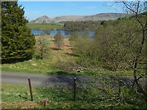 NS5379 : View from the John Muir Way by Lairich Rig