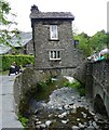 NY3704 : Bridge House stands over Stock Beck in Ambleside by Russel Wills