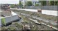 J3674 : New Connswater flood walls, Belfast (May 2016) by Albert Bridge