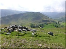 NY4319 : View from the cairn by Russel Wills