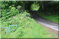 SO1800 : Junction of Sirhowy Valley Walk and minor road by M J Roscoe