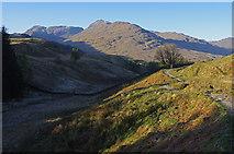 NN3724 : West Highland Way, Glen Falloch by Ian Taylor