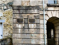 SH5571 : International Historic Civil Engineering Landmark plaques by Gerald England