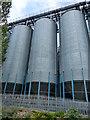SK5879 : Silos next to the Chesterfield Canal by Mat Fascione