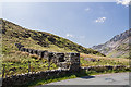 SH5553 : North Wales WWII defences: Rhyd Ddu - anti-tank blocks (1) by Mike Searle