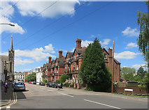 SP3265 : Priory Terrace, Leamington Spa by Des Blenkinsopp