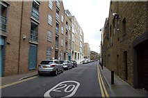 TQ3680 : Narrow Street by DS Pugh