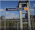 TQ2675 : Wandsworth Town Station by N Chadwick