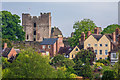 SO5074 : Ludlow Castle and Dinham by Ian Capper