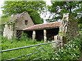 SO5208 : Disused farm buildings near Tregagle by Jeremy Bolwell