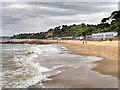 SZ0689 : Branksome Dene Beach by David Dixon