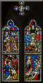 TF0664 : Genesis & Exodus window, All Saints' church, Nocton by Julian P Guffogg