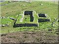 NB1941 : Blackhouse base at Carloway by M J Richardson