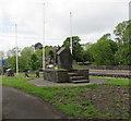 SN7810 : Ystradgynlais War Memorial  by Jaggery