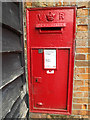 TM0954 : 4 High Street Victorian Postbox by Adrian Cable