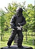 SK1814 : Explosive Ordnance Disposal Memorial by Alf Beard
