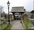 SS8377 : Lychgate, St John the Baptist, Newton, Porthcawl by Jaggery
