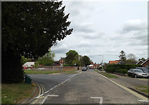TM0855 : Barrett's Lane, Needham Market by Adrian Cable