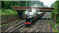 TQ3265 : 'Flying Scotsman' Passing Through Croydon by Peter Trimming