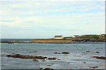 SH3368 : Cribinau from the Anglesey Coastal Path by Jeff Buck