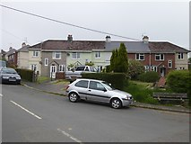 SX5857 : Terraced houses, Birchland Road, Sparkwell by David Smith