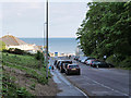 SZ0790 : Durley Chine (Car Park) by David Dixon
