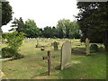 TM0854 : St.John the Baptist Cemetery, Needham Market by Adrian Cable