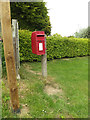 TM0754 : Brick Kiln Postbox by Adrian Cable
