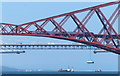 NT1379 : Train crossing the Forth Bridge by Mat Fascione
