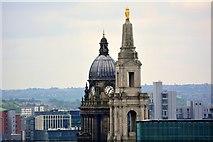 SE2934 : View Of Civic Hall, Calverley Street, Leeds by Mark Stevenson