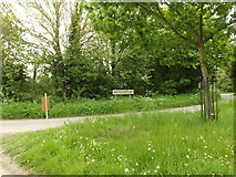 TM0949 : Entering Nettlestead on Nettlestead Road by Adrian Cable